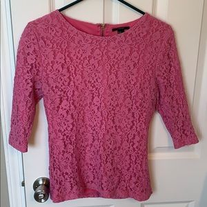Lace Forever 21 Blouse